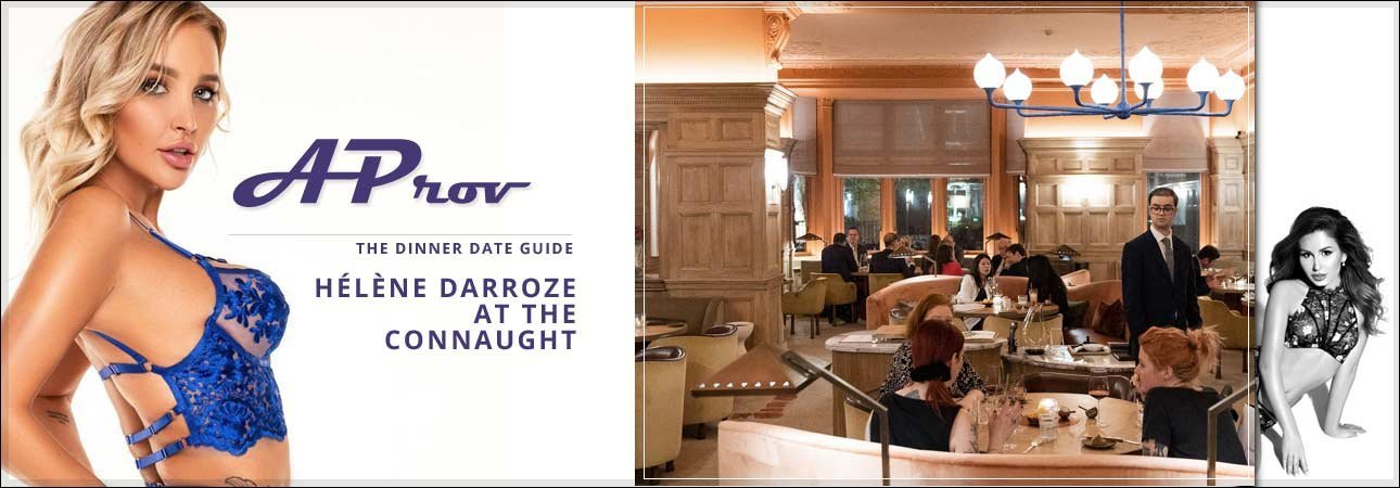 Mayfair Escort Dinner Dates :  - Hélène Darroze at The Connaught W1