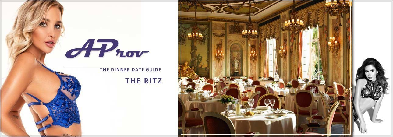 Central London Escort Dinner Date Venues :  The Ritz
