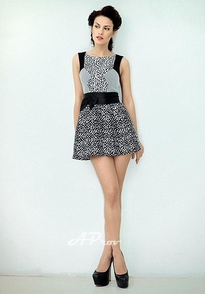 London High Class Slim Tall Brunette Escort Arina